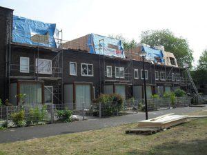 dakwerken project in noord holland